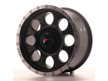Alu kola Japan Racing JRX4 17x8.5 ET20-35 BLANK Matt Black w/Machined Lip