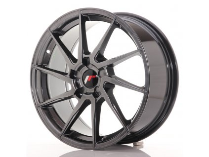 Alu kola Japan Racing JR36 18x8 ET20-52 5H BLANK Hyper Black