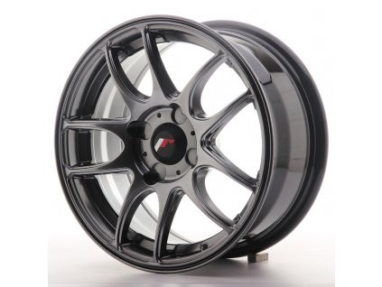 Alu kola Japan Racing JR29 15x7 ET20-42 4H BLANK Hyper Black