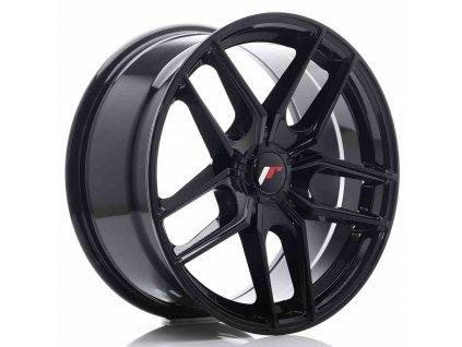 Alu kola Japan Racing JR25 18x8,5 ET20-40 5H BLANK Gloss Black