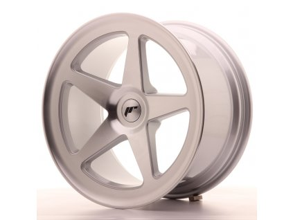 Alu kola Japan Racing JR24 18x9,5 ET25-32 BLANK Silver Machined Face