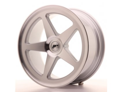 Alu kola Japan Racing JR24 18x8,5 ET25-32 BLANK Silver Machined Face