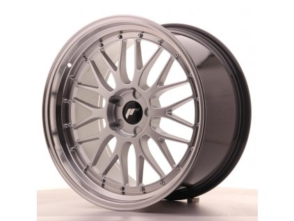 Alu kola Japan Racing JR23 20x10,5 ET30-43 5H BLANK Hyper Silver w/Machined Lip