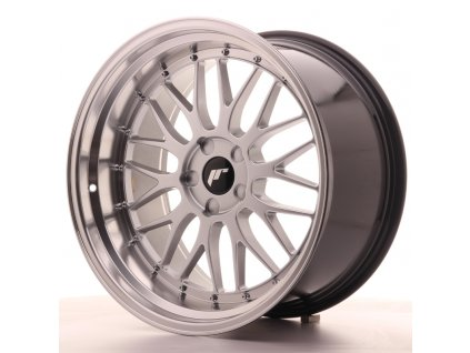 Alu kola Japan Racing JR23 20x10,5 ET15-25 5H BLANK Hyper Silver w/Machined Lip