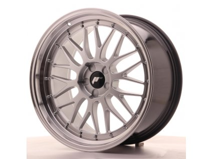 Alu kola Japan Racing JR23 20x10 ET20-38 5H BLANK Hyper Silver w/Machined Lip