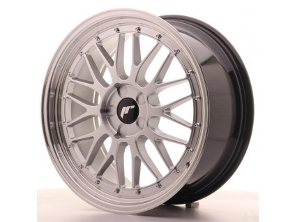 Alu kola Japan Racing JR23 19x8,5 ET20-50 5H BLANK Hyper Silver w/Machined Lip