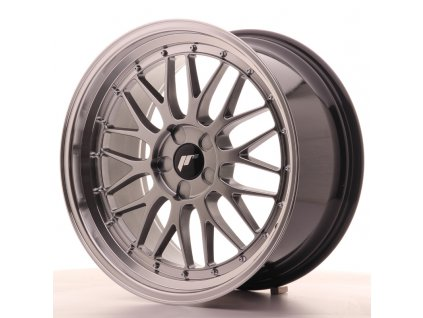 Alu kola Japan Racing JR23 19x8,5 ET20-50 5H BLANK Hyper Black w/Machined Lip