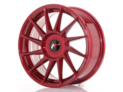 Alu kola Japan Racing JR22 17x7 ET35-40 BLANK Platinum Red