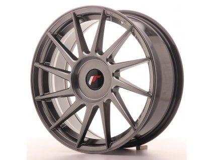 Alu kola Japan Racing JR22 17x7 ET35-40 BLANK Hyper Black