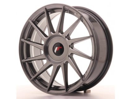 Alu kola Japan Racing JR22 17x7 ET35-40 BLANK Hyper Black