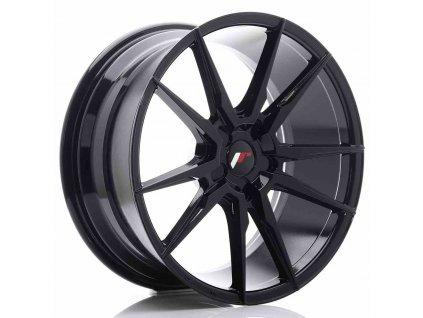 Alu kola Japan Racing JR21 19x8,5 ET35-40 5H BLANK Gloss Black