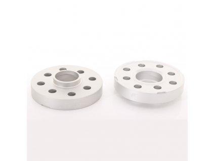 JRWS2 podložky 25mm 5x108/110 65,1 65,1 Silver