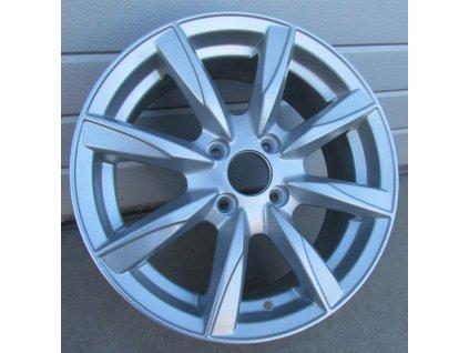 Alu kola design RS Wheels 15x6,5 4x100 ET38 67,1 stříbrné
