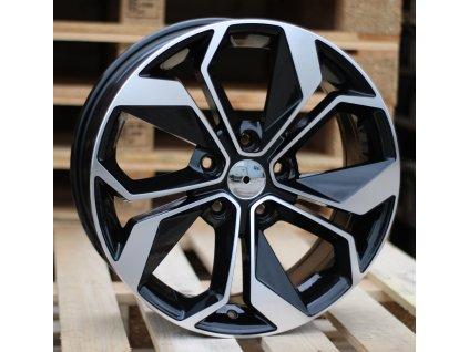 Alu kola design Renault 16x6.5 5x114.3 ET45 66.1 černé