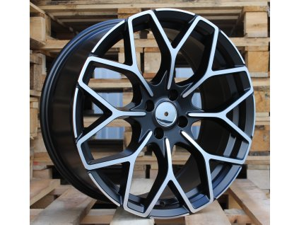 Alu kola design Smart 17x7,5 4x100 ET25 60,1 černé
