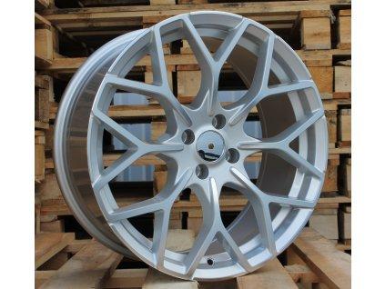 Alu kola design Smart 17x7,5 4x100 ET25 60,1 stříbrné