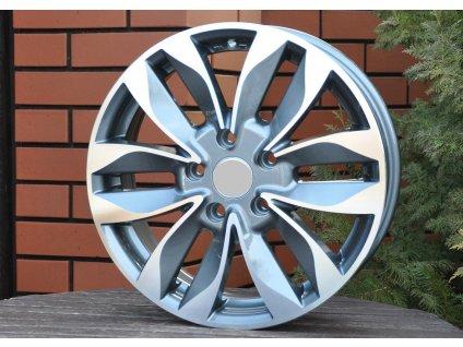 Alu kola design Suzuki 16x6 5x114.3 ET45 60.1 šedé