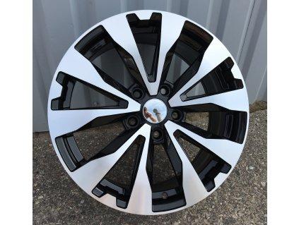 Alu kola design Subaru 17x7 5x114.3 ET55 56.1 černé