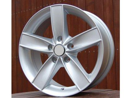 Alu kola design Volkswagen 15x6,5 4x100 ET40 57,1 stříbrné