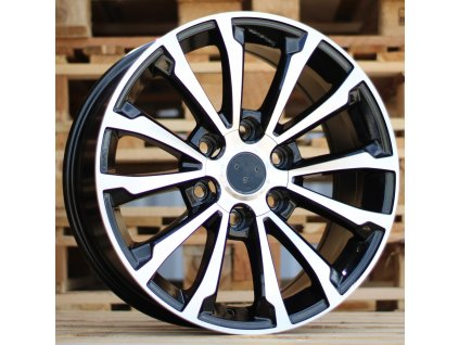 Alu kola design Offroad 17x7.5 6x139.7 ET30 106.1 černé