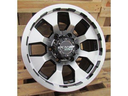 Alu kola design Offroad 15x8 6x139.7 ET13 110.5 černé