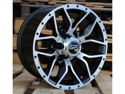 Alu kola design Offroad 15x8 6x139.7 ET0 110.5 černé