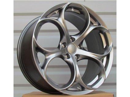 Alu kola design Alfa Romeo 17x7.5 5x110 ET32 65.1 šedé