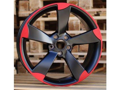 Alu kola design Audi 18x8 5x112 ET35 66.56 červené