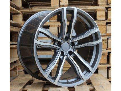 Alu kola design BMW 19x8.5 5x120 ET30 72.6 šedé