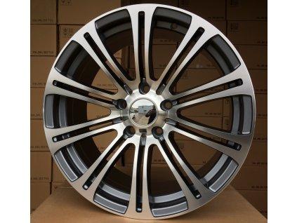 Alu kola design BMW 16x7 5x120 ET35 72.6 šedé