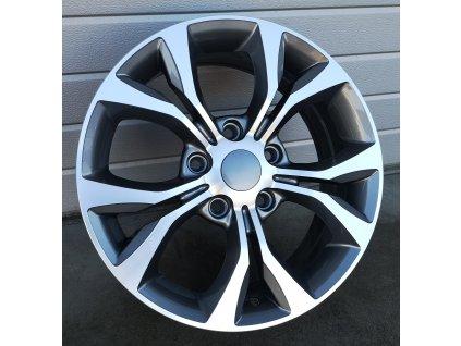 Alu kola design Toyota 17x6,5 5x127 ET40 71,5 šedé