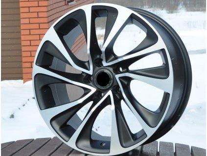 Alu kola design Citroen 17x7 5x108 ET25 65.1 černé