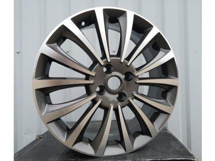 Alu kola design Fiat 15x6.5 4x98 ET42 58.1 šedé