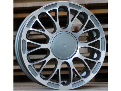 Alu kola design Fiat 15x6 4x98 ET35 58,1 šedé