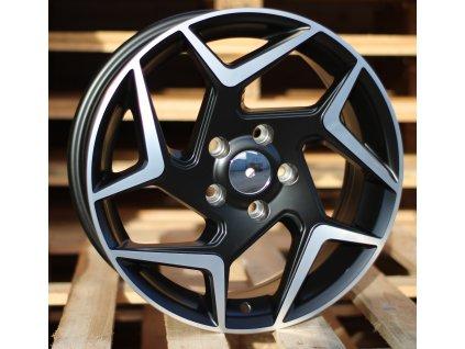 Alu kola design Ford 16x6.5 5x108 ET47 63.3 černé