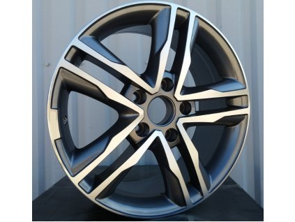 Alu kola design Ford 17x7,5 5x108 ET40 73,1 šedé