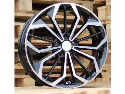 Alu kola design Ford 18x8 5x108 ET55 63,3 černé