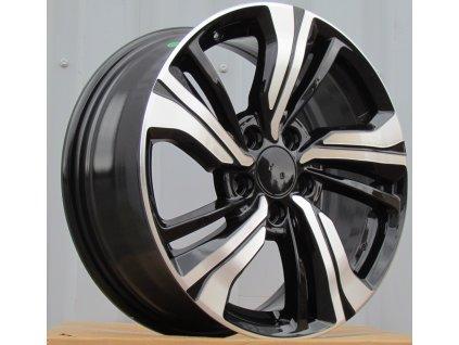 Alu kola design Honda 17x7 5x114,3 ET45 64,1 černé