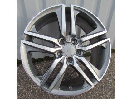 Alu kola design Honda 18x8 5x114,3 ET55 64,1 šedé