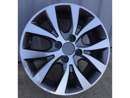 Alu kola design Hyundai 15x6 4x100 ET48 54,1 šedé