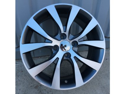 Alu kola design Hyundai 15x6,5 4x100 ET40 54,1 šedé