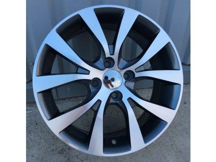 Alu kola design Hyundai 15x6,5 4x100 ET40 54,1 černé