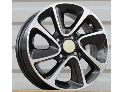 Alu kola design Hyundai 14x5 4x100 ET41 54.1 černé