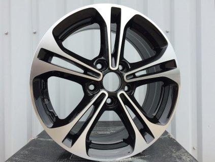 Alu kola design Hyundai 16x6,5 5x114,3 ET46 67,1 černé
