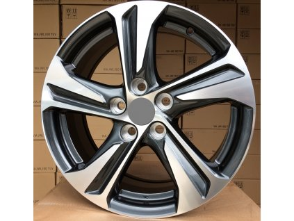 Alu kola design Hyundai 14x5,5 4x100 ET35 60,1 šedé
