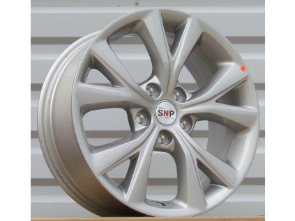 Alu kola design Kia 17x7 5x114,3 ET47 67,1 stříbrné