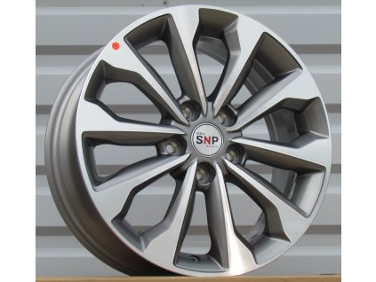 Alu kola design Kia 17x7 5x114,3 ET52 67,1 šedé
