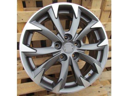 Alu kola design Mazda 17x7 5x114,3 ET50 67,1 šedé