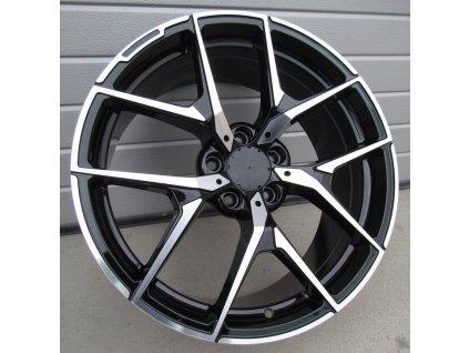 Alu kola design Mercedes 19x8,5 5x112 ET45 66,56 černé