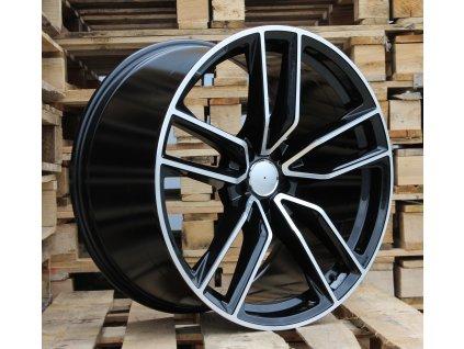 Alu kola design Mercedes 21x11 5x112 ET38 66.5 černé